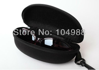 Wholesale/Retails Normal Sunglasses Carrying Case Black Sunglasses Cases Best Quality Low Price