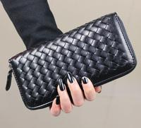 free shipping Fashion medium-long 2013 knitted purse day clutch women's handbag fashion bag cheap