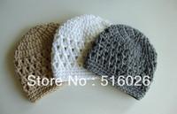 wholesale 50pcs/lot custom order Crochet Baby Hats newborn size beanie Newborn Photography Prop freeshipping