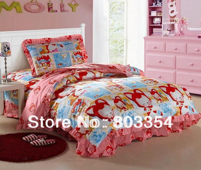 cheap kids bedding for sale ruffles kids bedding sets single double