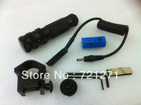 5mW 532nm Hat-shape Green Laser Sight with Gun Mount Black G07 (1*16340)