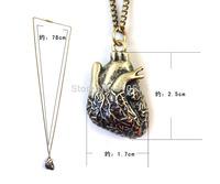 Anatomical Heart Human Anatomy Necklace