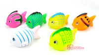 Baby bath toys dollarfish swimming toys 2 toy baby toy  free shipping