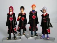 New Japan Anime Naruto action figure 4pcs G27