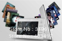 7 Inch 720p Digital Pocket Book 4G Ebook Reader 3000mAh+leather case