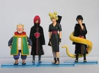 New Japan Anime Naruto action figure 4pcs G30