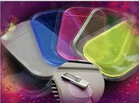Wholesale - 20pcs/lot Powerful Silica Gel Magic Sticky Pad Anti-Slip Non Slip Mat for Phone PDA mp3 mp4 Car