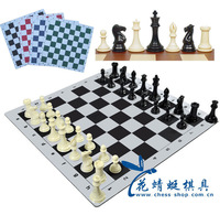 Free Shipping Chess Luxury Chess Set 1.7kg Weight King Height 106mm High Quality