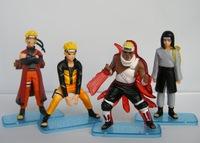 New Japan Anime Naruto action figure 4pcs G29