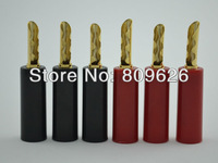 High Performance Gold Plated Speaker banana plug connector Audiocrast Speaker banana Connector for Amplifer