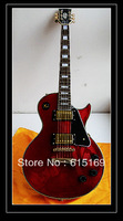 2013 HOT Selling Guitar G-LP Rosewood Custom Rosewood  Red 6 Strings natural Wood Electric Guitar Free Shipping