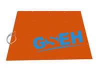 Flexible silicon rubber heater mat