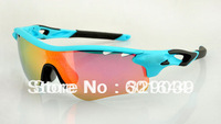 HOT 2013 Year New arrival eyewear sunglasses Free shipping 13colors Women Sunglasses + 5 pairs lens Sports Sunglasses
