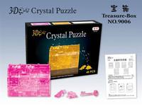 3d crystal puzzle crystal kit diy three-dimensional jigsaw puzzle