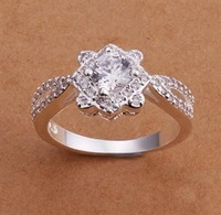 R175 Size:8 Wholesale 925 silver ring, 925 silver fashion jewelry, fashion ring /bmhakdoasu