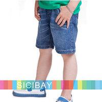 Kids Summer Clothing Free Shipping Boys Shorts Children Jeans Shorts,6pcs/lot K1174