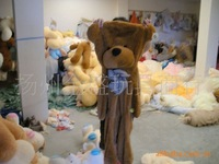 Teddy bear  plush toys coat Factory Price one-180CM two-200CM  bear shell 3 COLOR Teddy bear plush toys coat