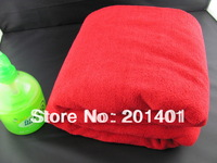 Hot Sale Big Size Microfiber Beach Towel/SPA Towel ,Bath Towel Red Color