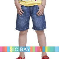 Boys Jeans Free Shipping Fashion Shorts Kids Summer Wear,Children Cool Jeans Shorts  K1174