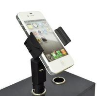 car mount holder with car charger for iPhone, Samsung Galaxy, Blackberry,Nokia,HTC car holder phone charger HC34