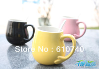 Wholesale - Ceramic color cup individuality creative couple cup