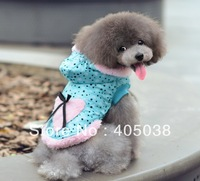 Dog Hoodies dog Clothes Winter Coat Cotton-padded Jacket Warm Clothing