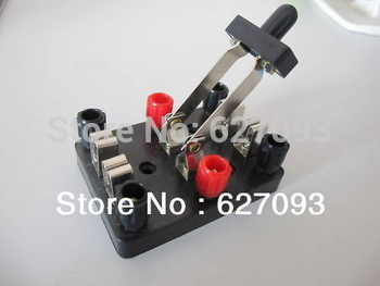 5pcs Knife Switch Double Pole Double Throw DPDT toggle Free shipping
