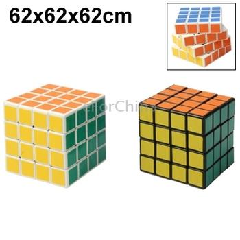 Wholesale 4 x 4 x 4 Brain Teaser Smooth Magic IQ Cube Free Shipping