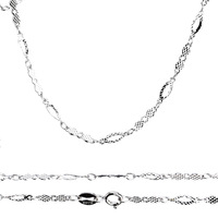 2013 necklaces 16-18 inch Pure 925 sterling silver necklace precious jewelry GNLT0065 (if fake- triple refund)