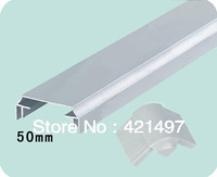 50 middle thickness aluminium profile for LED light box