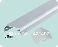 50 middle thickness aluminium profile for LED light box