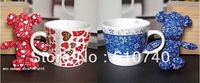Wholesale - Ceramic mug cup milk cup coffee cup lovers cup birthday gift