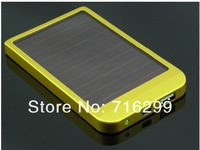 Free Shipping by DHL UPS Hot Saling 2600mAh Solar Charger Portable USB Solar Power Bank Charger For Mobile Phone MP3 MP4 PDA