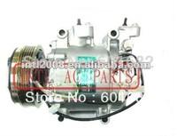 Automotive air compressor ar condicionado Compressor PV5 for Honda Jazz 2010/ Fit 2008 Sanden TRSE07 3426 3431 3442