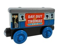 Free Shipping Thomas Friends The Tank Train Engine Original DAY OUT WITH Thomas 2013  Wooden Child Boy Toy  Wholesale