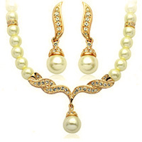 italina Pearl necklace set female vintage short design bridal wedding dress accessories jewelry