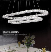 2013 new design 75*40cm+  55*21cm two ring can make one ring  led home lamp suitable for dinner room living room free shipping