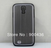 Aluminium Chrome Hard Case Cover For SAMSUNG GALAXY S4 IV i9500 100pcs/lot DHL free shipping