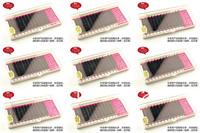 One Box 12Row 0.15 0.1 C D J Curly 8mm 9mm 10mm 11mm 12mm 13mm Choose High Quality Natural Individual Extension False Eyelashes