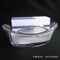 Crystal gold ingot business card seat commercial business card box business card holder k070