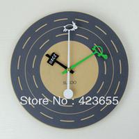 Fashion wall clock mute clock wool art watch brief decoration watch