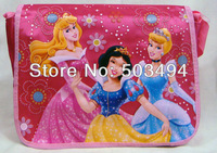 Free Shipping Nylon Princess Shoulder Side Bag Child School Bag Wholesale And Retail