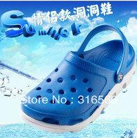 Best Selling!!2013 Style New Men & Women's Duet Sport Clog Sandal Shoes Lover Slipper Free Shipping