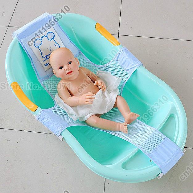 newest adjustable baby kid toddler infant newborn safety security shower bath seat tub bathtub. Black Bedroom Furniture Sets. Home Design Ideas
