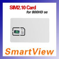 1pc Original SIM2.10 Card for DM800HD se 800se DM800-S dvb-s satellite receiver DM800HD se-C cable receiver  free shipping post