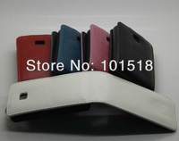 Free shipping&10pcs/Lot New High quality leather case for LG Optimus L3 II E430