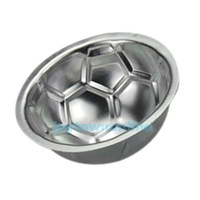 DIY Non-toxic Aluminum Birthday Cake Baking Jello Chocolate Football Pan Mold #1