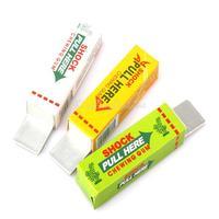 Safety Trick Joke Toy Electric Shock Shocking Chewing Gum Pull Head K5BO