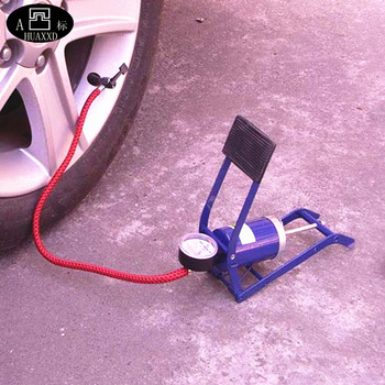 Car air pump car air pump car folding pedal pump up tube car tyre inflatable pump