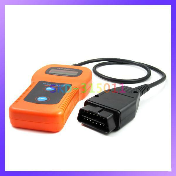 U480 Car Code Reader OBD II Memo Scanner Car Diagnostic Scanner Fault(China (Mainland))